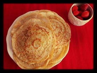 Здравословна закуска vol.4 - хелоуински палачинки с тиква