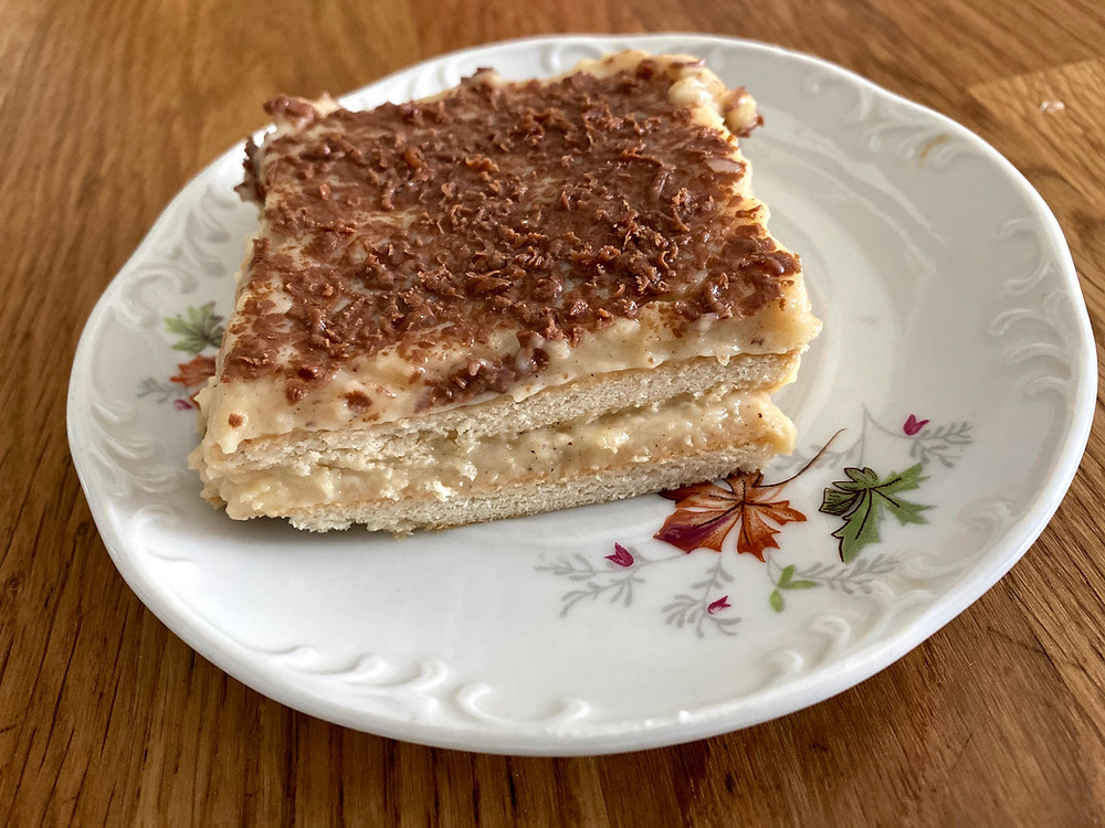 Homemade biscuit cake