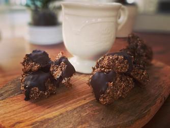 Здравословни бисквити с три съставки без захар