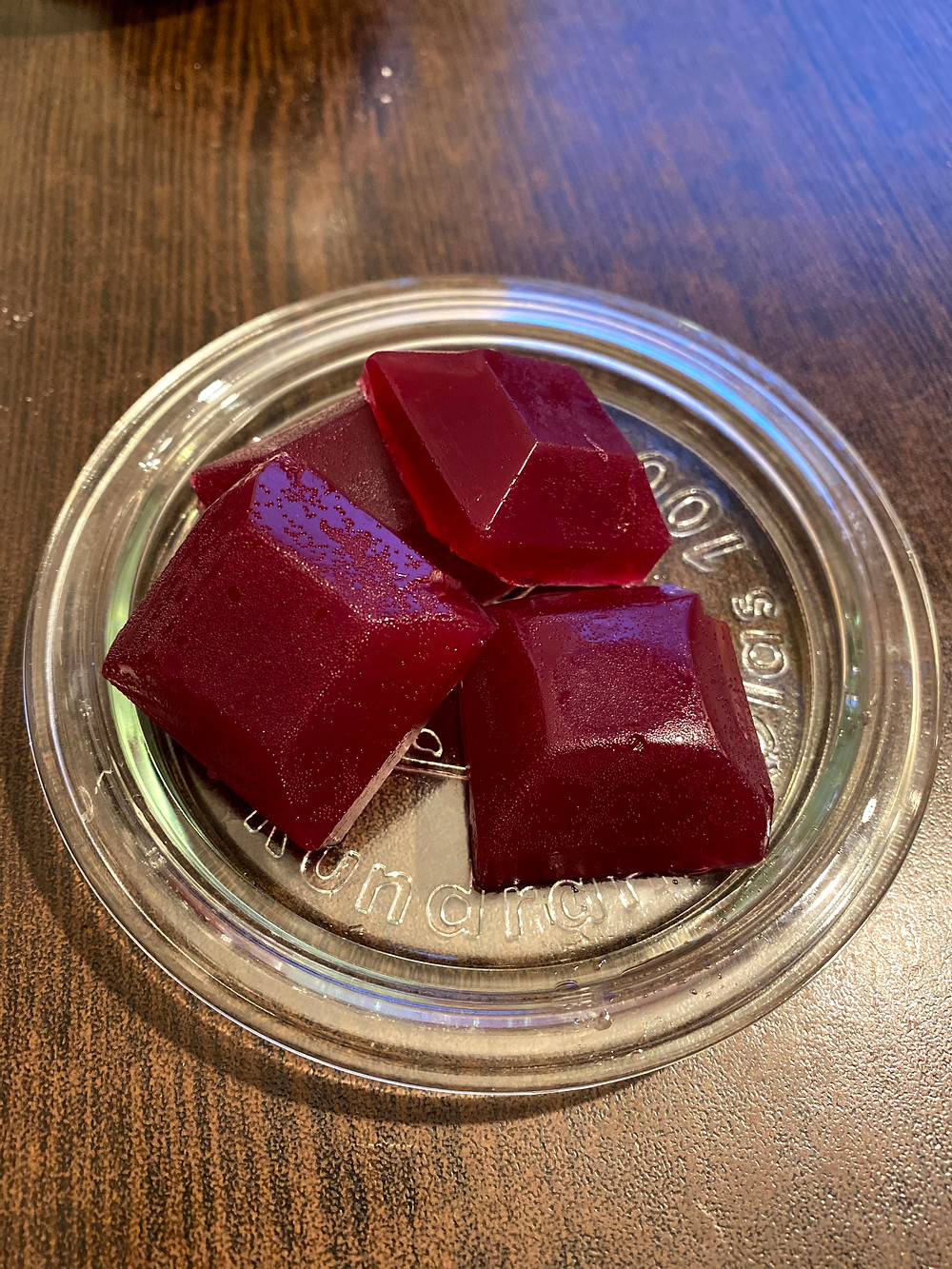 Gluehwein jelly