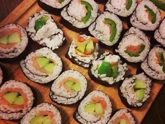 Суши у дома
