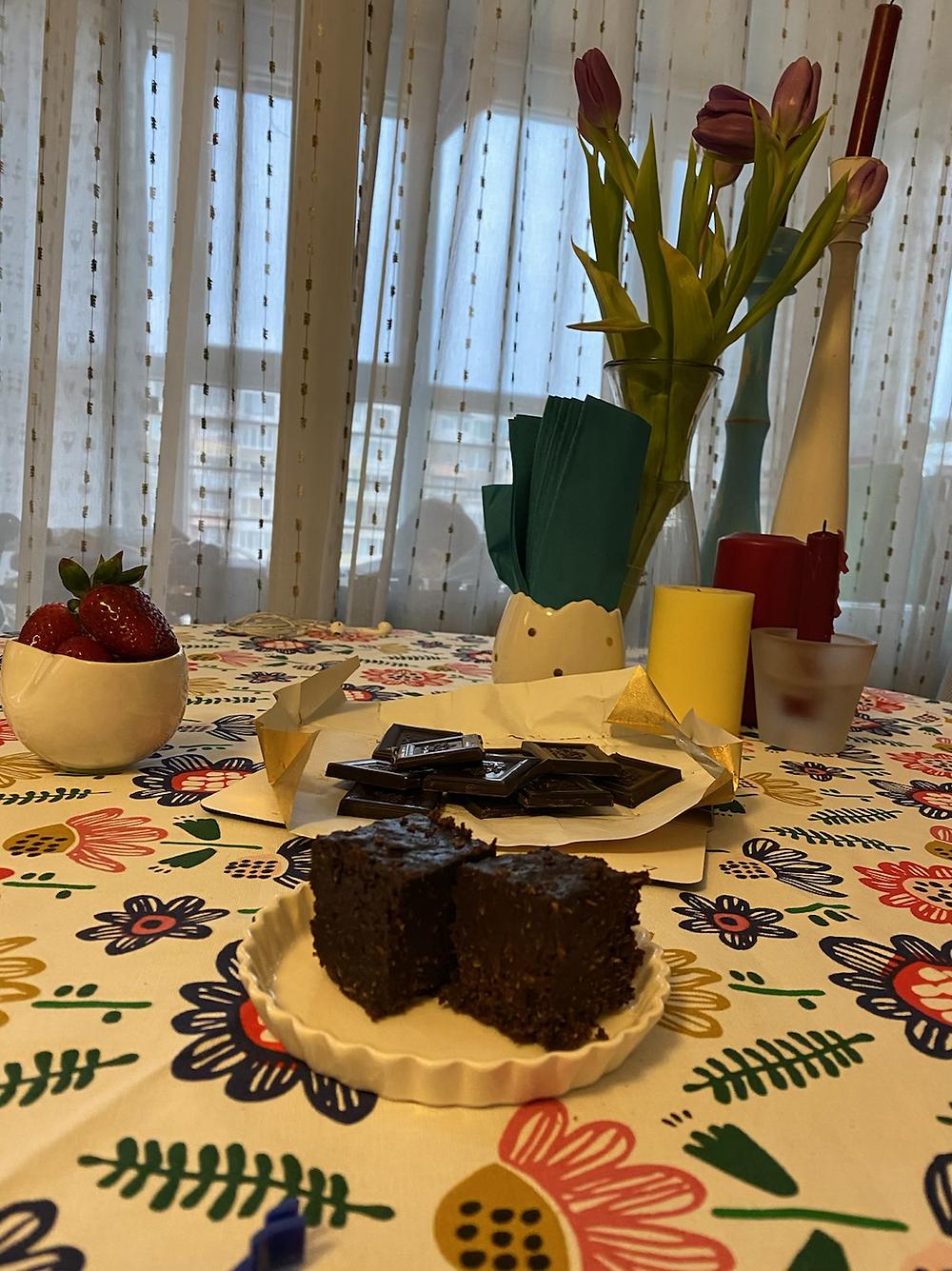fourless chocolate cake