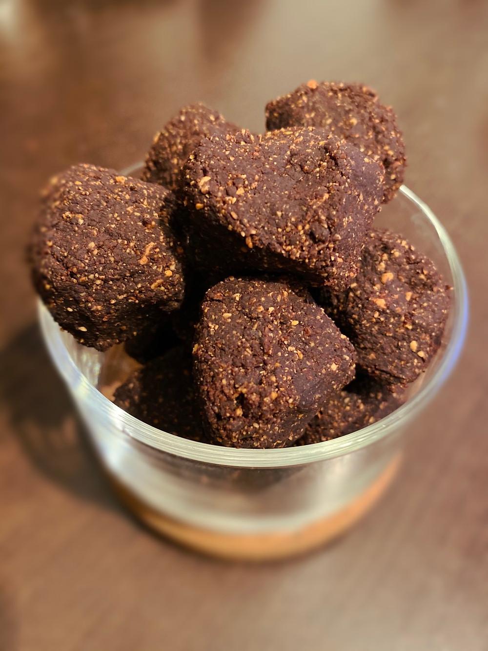 Vegan bonbon in 3 ingrediens