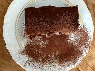 Шоколадова торта без глутен, без захар и без млечни и яйца - за 5 мин!