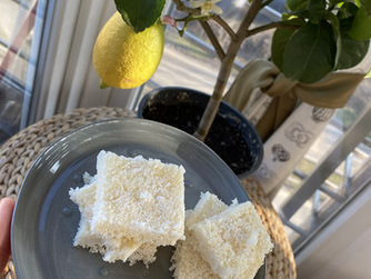 Кокосово-лимонови барчета