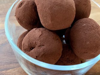Шоколадови трюфели у дома