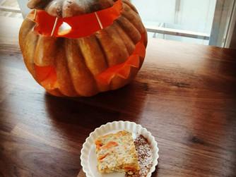 Здравословен тиквен крем карамел без захар за Halloween