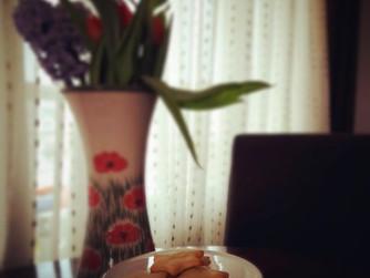 Италиански лимонови бисквити с махлеб