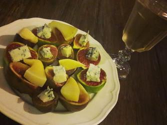 Предястие със смокини и сирене