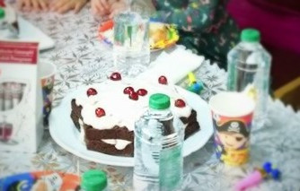 Много сочна шоколадово-портокалова торта за рожден ден или Нова година