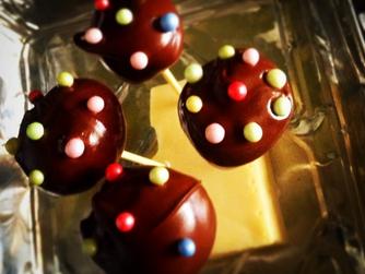 Бисквитено-шоколадови близалки от фабриката на Уили Уонка