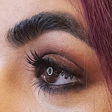 Smoky eye, red smokey, make-up artist, windsor, sian mccauley