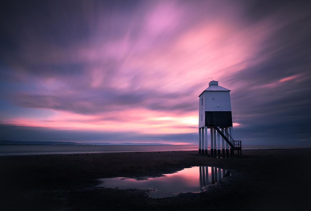 [ Purple Sky ] at Burnham-on-Sea