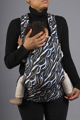 Porte-bébé et masque Zebra
