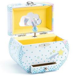 Boîte à bijoux musicale Rêve des Licorne