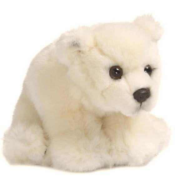 WWF petit ours polaire assis