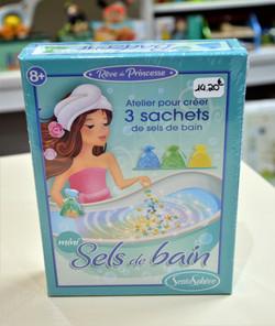 3 sachets de sels de bain àcréer 8-99 ans Sentosphère