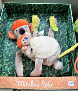 Dans la jungle Koala Koco musical à suspendre