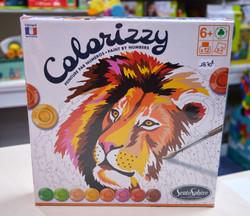 Colorizzy peinture par numéros savane 6 ans+ Sentosphère