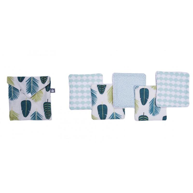 Lingettes lavables feuilles BB&co