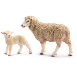 Mouton et agneau Schleich