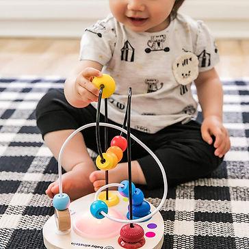 Baby Einstein Hape Color Mixer bead wood