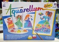 Aquarellum junior princesses fleurs 7-99 ans Sentosphère