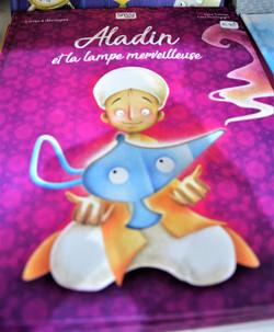 Livre découpé au laser Aladin Sassi