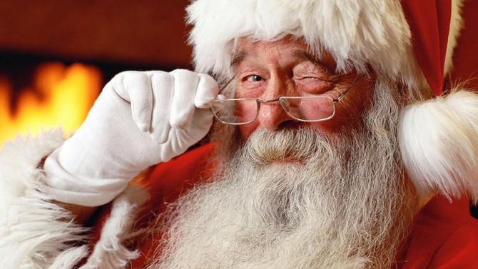 Escale rue des Carmes pour le Père Noël!
