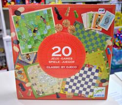 20 Jeux classiques 6ans+ Djeco