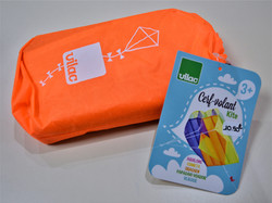 Cerf-volant orange 3 ans+ Vilac