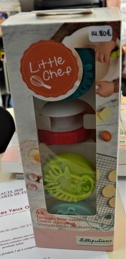 Tampons pour sablés little chef Lilliputiens