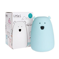 Lil'bear bleu veilleuse tactile Little L