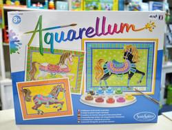 Aquarellum chevaux en parade 8 ans+ Sentosphère