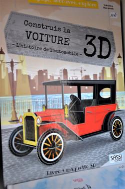 Construis la voiture 3D Sassi