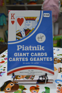 Jeu de cartes géantes Piatnik