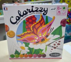 Colorizzy peinture par numéros papillons 6 ans+ Sentosphère