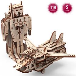 Robot-Avion Mr Playwood