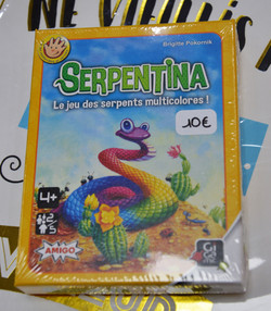 Serpentina 4 ans+ Gigamic