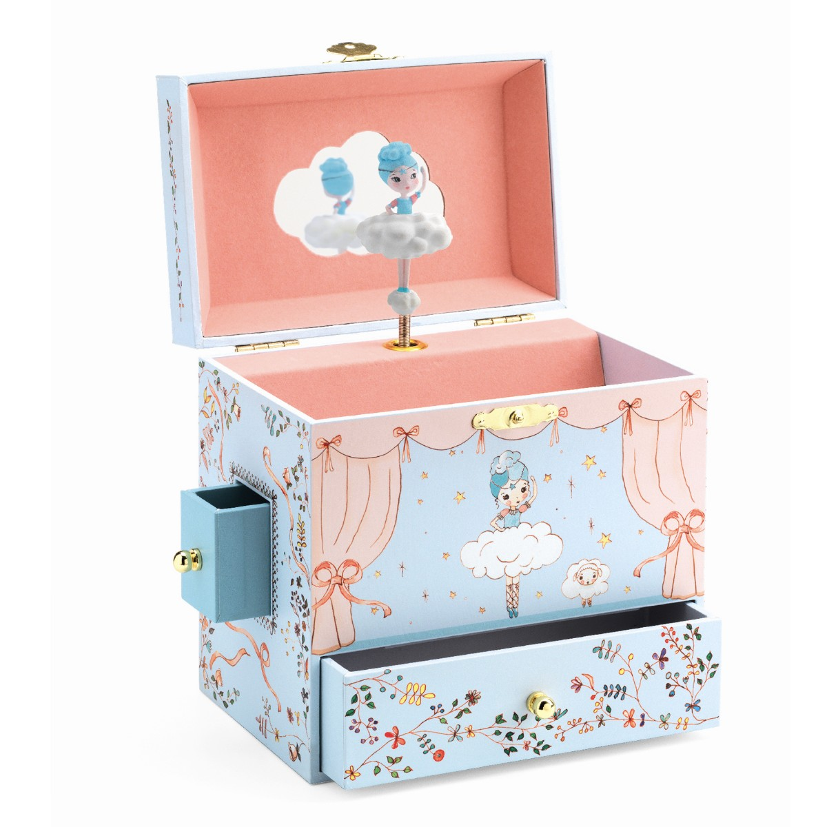 Boîte à bijoux ballerine Djeco