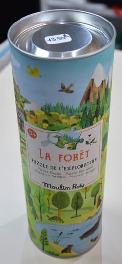 Puzzle de l'observateur La forêt 96 pcs Moulin Roty