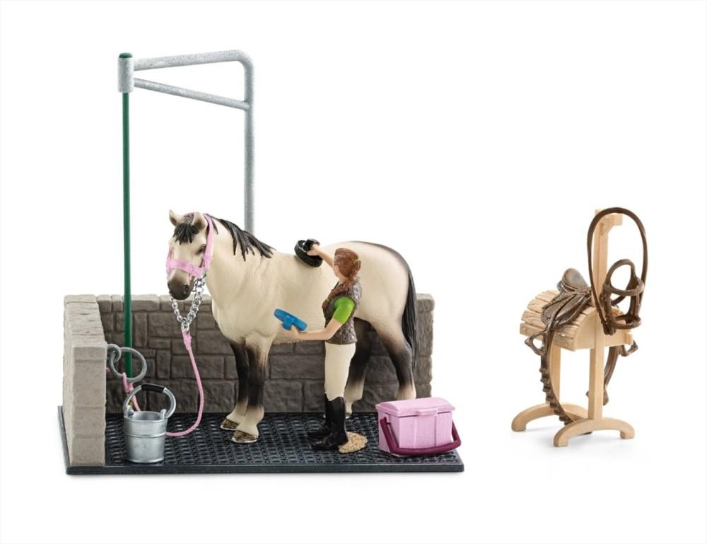 Box de lavage pour chevaux Schleich