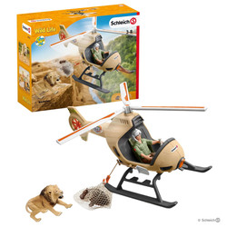 Hélicoptère pour sauvetage d'animaux Schleich