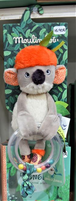 Dans la jungle hochet koala