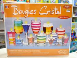 Bougies cristal 8-99 ans Sentosphère