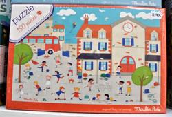 Puzzle à l' école 150 pièces 6 ans+