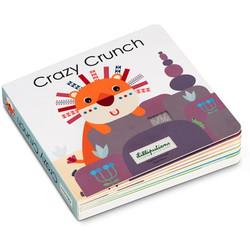 Livre tactile et sonore Crazy Crunch Lilliputiens