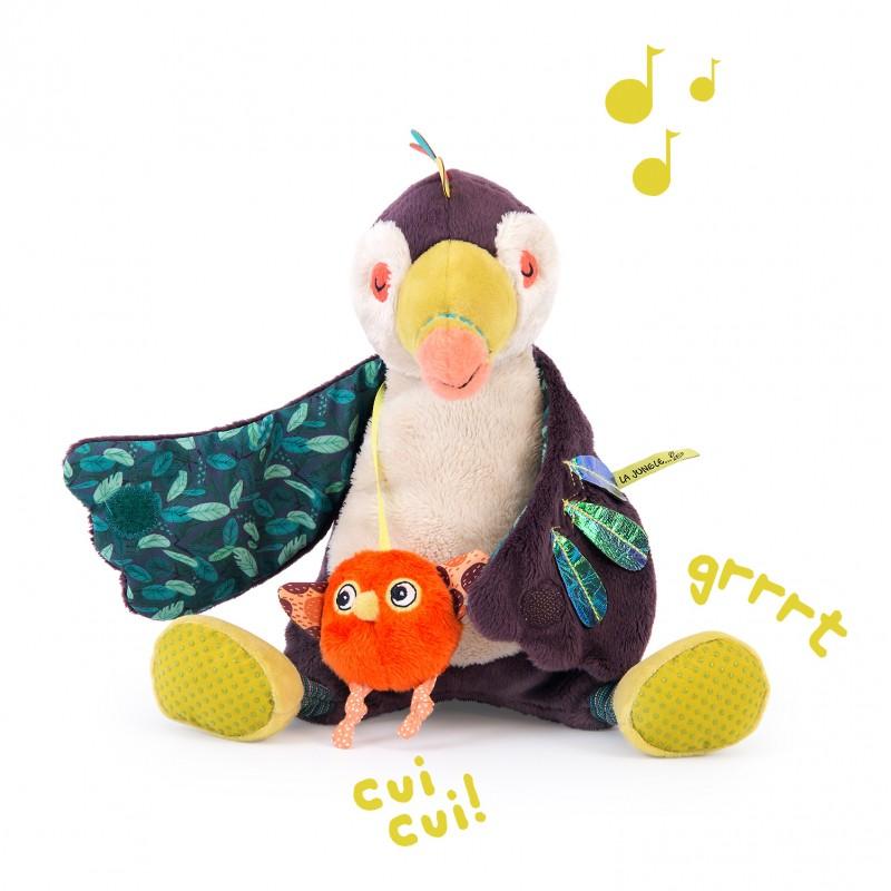 Pakou le toucan musical Dans la jungle