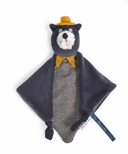 Doudou chat Alphonse Les Moustaches