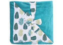 Couverture luxe feuilles BB&co
